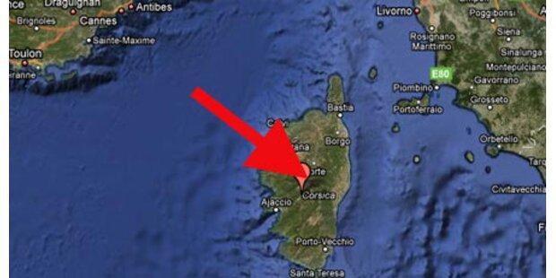 Jet vor Korsika vom Radar verschwunden