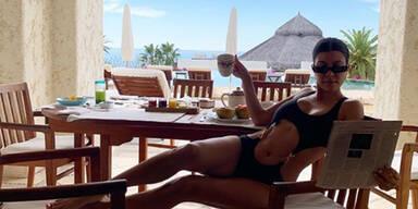 Kardashian deckt ihren Tisch mit Gmundner Keramik