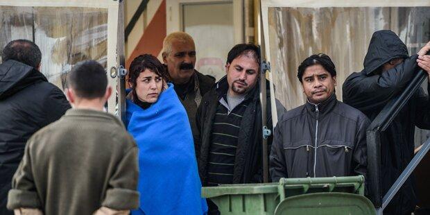 Mob verhindert Landung von Minister-Heli