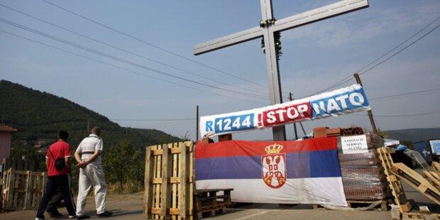 Auch kosovarische Zöllner an Grenze