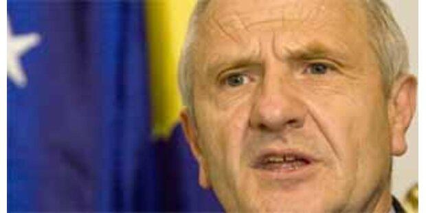 Kosovarischer Präsident tritt zurück