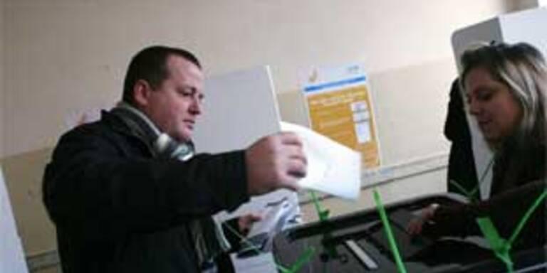 Kosovo-Wahlen schleppend angelaufen