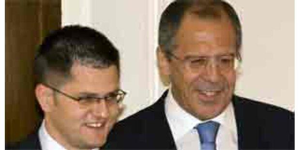 Russland unterstützt Belgrad in Kosovo-Frage