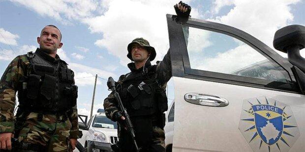 Grenz-Krise im Kosovo beendet