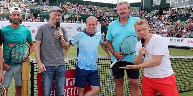 Koubek gewinnt One-Tennis-Point-WM