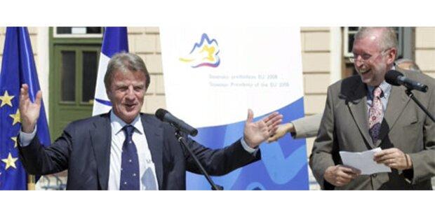 Slowenien übergab EU-Vorsitz an Frankreich
