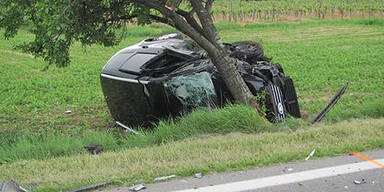 Frontalcrash: Acht Verletzte