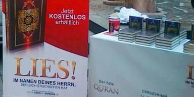 Koran-Verteilungen auch in Salzburg