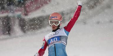 Stefan Kraft gewinnt in Oberstdorf