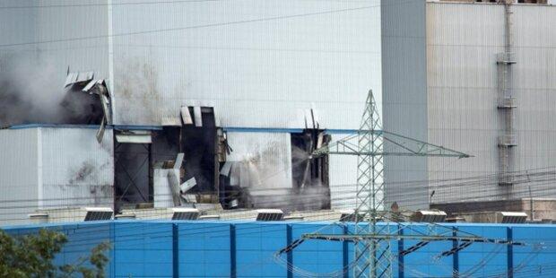 Hessen: Explosion legt Kraftwerk lahm