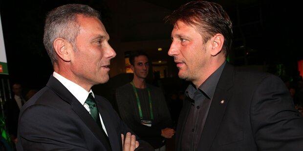 Aussprache zwischen Rapid-Boss & Barisic
