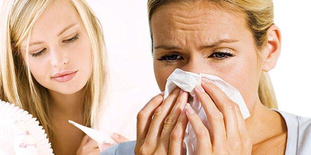 Pollenallergie oder Erkältung?