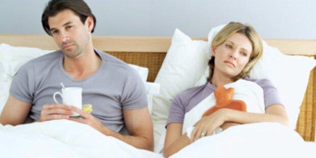 15.600 Wiener mit Grippe im Bett