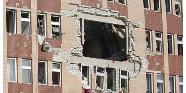 Sauerstoffflasche explodiert - 16 Tote