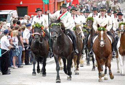 Bezirksfest der Pongauer Volkskultur