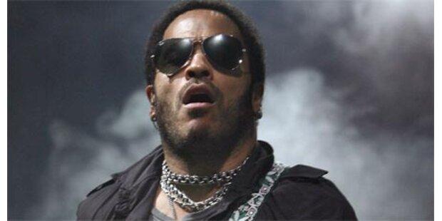 Lenny Kravitz rockte in  Wien