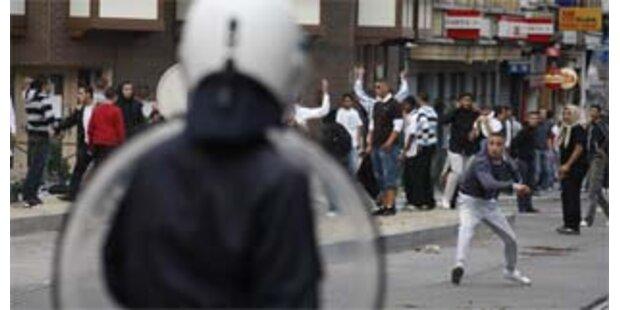 Straßenschlacht mit 194 Festnahmen in Brüssel