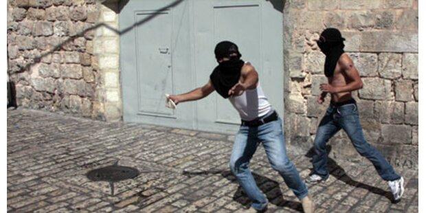 30 Verletzte bei Krawallen in Jerusalem