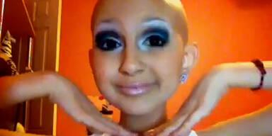 Krebskrankes Mädchen