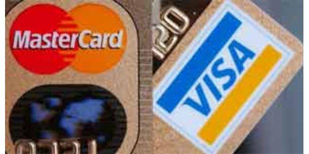 Visa und Mastercard mit Gewinnsprung