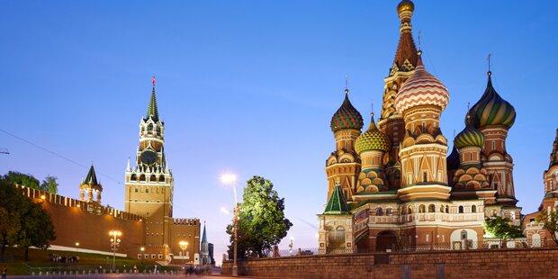 Weltkriegsbombe mitten im Moskauer Kreml entdeckt