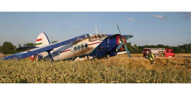Flugzeugabsturz in Krems ging glimpflich aus