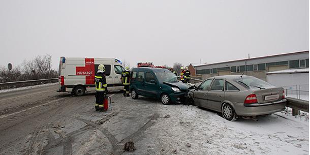 Unfall bei Krems