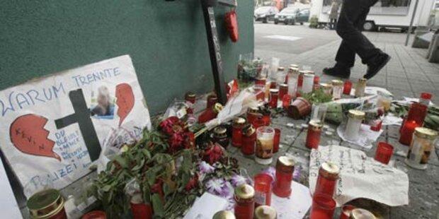 Gedenkstätte für Florian P. entfernt