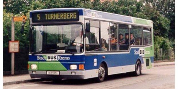 Busverbot für Kremser Pöbel-Kids