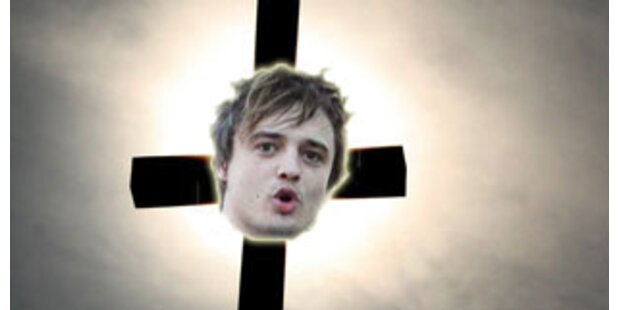Pete Doherty will sich ans Kreuz