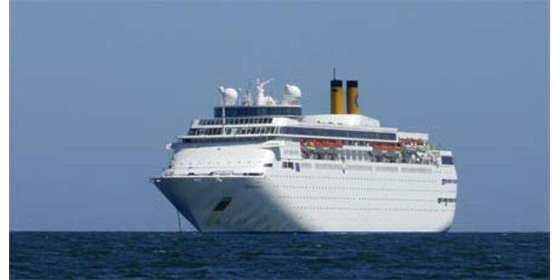 Kreuzfahrtschiff vor Uruguay nach Brand evakuiert