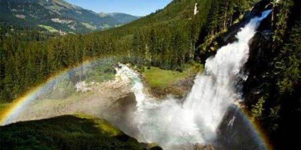 Krimmler Wasserfall hilft Asthmatikern