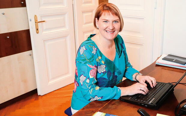 Helga Krismer im MADONNA-Talk
