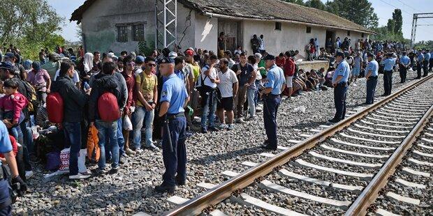 Kroatien macht Grenze zu Serbien dicht