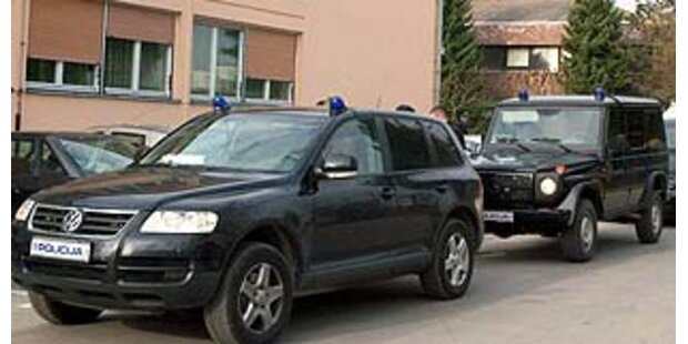 500 Polizisten suchen nach kroatischem Ex-General