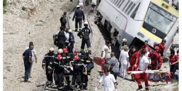 Schweres Zugsunglück in Kroatien