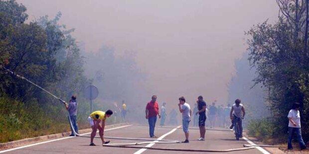 Jetzt brennt auch Kroatien