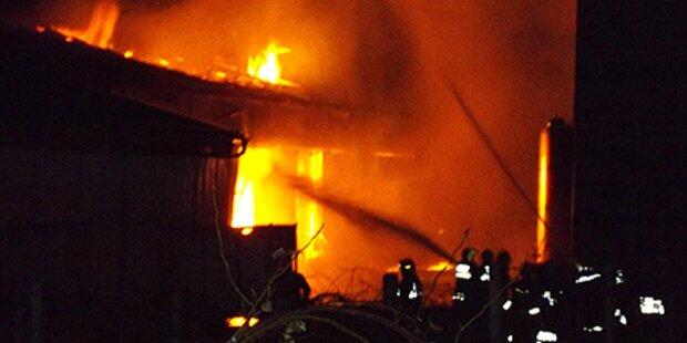 Schnapsbrennerei im Burgenland abgebrannt