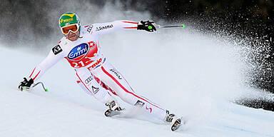 Abfahrt, Slalom und Skispringen