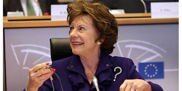 EU-Kommissarin muss nachsitzen