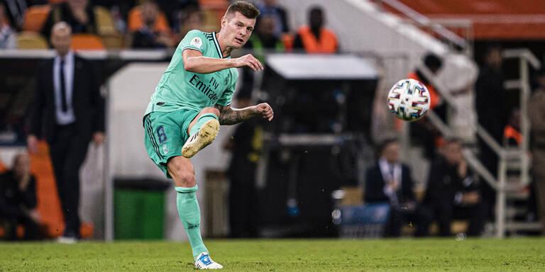 Real-Star mit 'Schlitzohr-Tor' bei Super-Cup