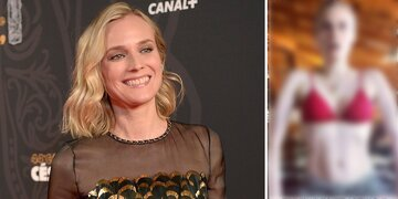 Muskeln: Hier gibt Diane Kruger mit After-Baby-Body an