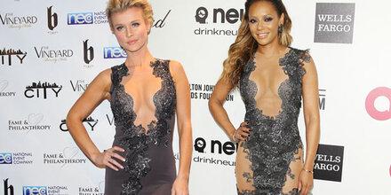 Mel B & Joanna Krupa im (fast) gleichen Kleid