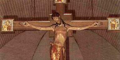 Barocke Jesusfigur aus Kirche gestohlen
