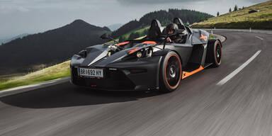 Spezieller KTM X-Bow zum 10. Geburtstag