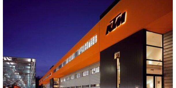 KTM in schweren Turbulenzen