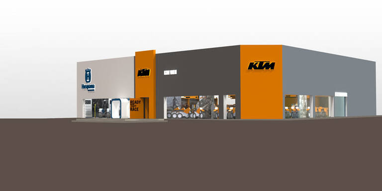 KTM eröffnet Flagship-Store in Wien