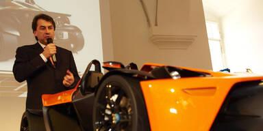KTM präsentiert Elektroauto E3W