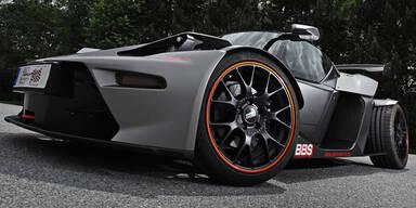 KTM X-Bow GT mit unfassbaren 485 PS