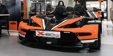 Facelift für den KTM X-Bow R